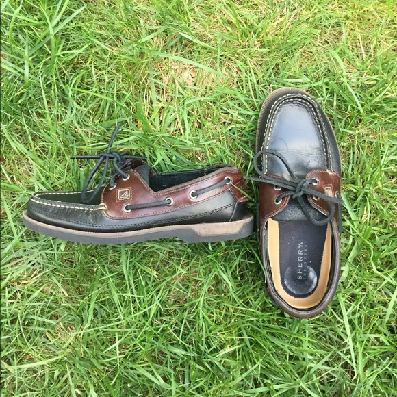 Sperry Other - Sperry | Top Sider Brown Leather Boat Shoes
